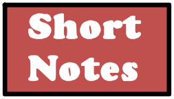 Important Short Notes