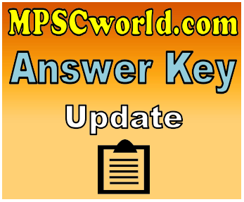 MPSC ASO Mains Exam 2018 Answer Key Download
